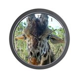 Giraffe #1 - Wall Clock with numbers