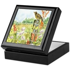 Meadow and Lark Keepsake Box