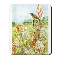 Meadow and Lark Mousepad
