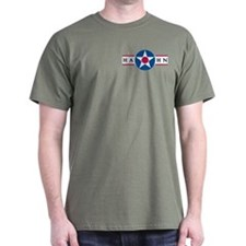 Hahn Air Base Military Green T-Shirt