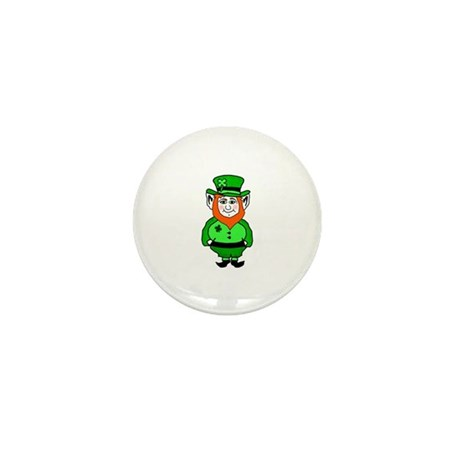 Happy Leprechaun Mini Button