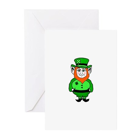 Happy Leprechaun Greeting Cards (Pk of 10)