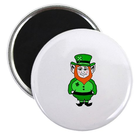 "Happy Leprechaun 2.25"" Magnet (10 pack)"