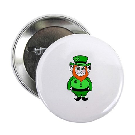 "Happy Leprechaun 2.25"" Button"