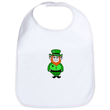 Happy Leprechaun Bib