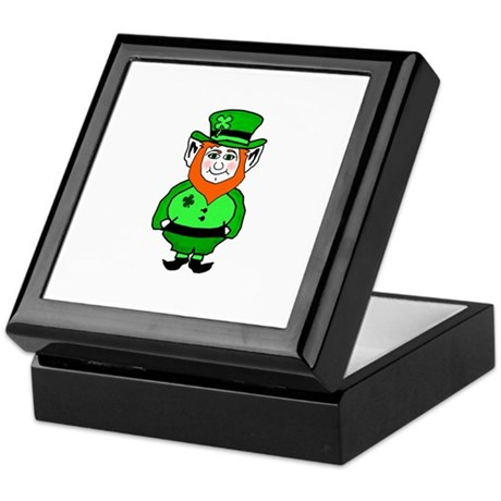 Happy Leprechaun Keepsake Box