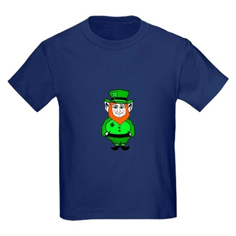 Happy Leprechaun Kids Dark T-Shirt