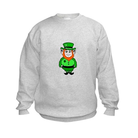 Happy Leprechaun Kids Sweatshirt