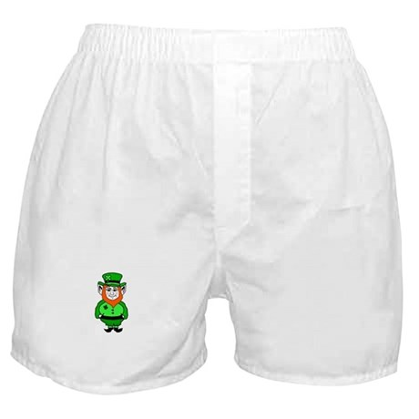 Happy Leprechaun Boxer Shorts