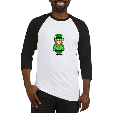 Happy Leprechaun Baseball Jersey