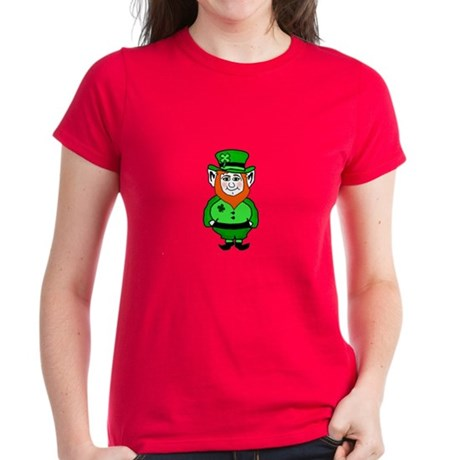 Happy Leprechaun Women's Dark T-Shirt