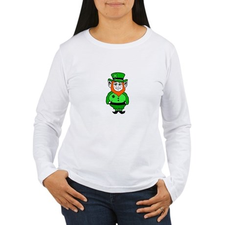Happy Leprechaun Women's Long Sleeve T-Shirt
