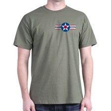 Hamilton Air Force Base Military Grn T-Shirt
