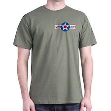 Hamilton Air Force Base Military Grn T-Shirt