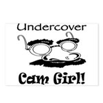 Undercover Cam Girl Postcards (Package of 8)