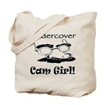 Undercover Cam Girl Tote Bag