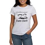 Undercover Cam Girl Women's T-Shirt
