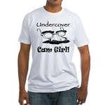 Undercover Cam Girl Fitted T-Shirt