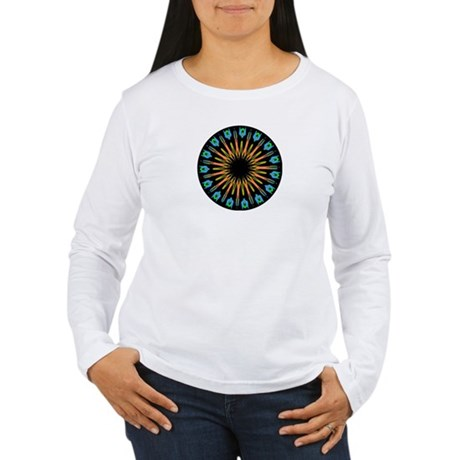 Kaleidoscope 003 Women's Long Sleeve T-Shirt