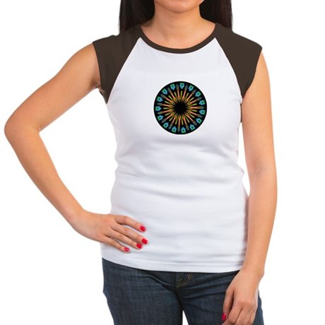 Kaleidoscope 003 Women's Cap Sleeve T-Shirt