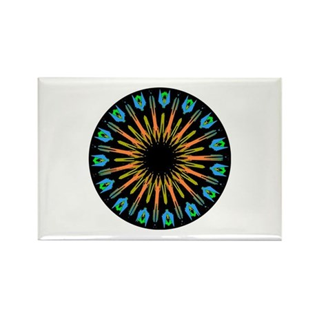 Kaleidoscope 003 Rectangle Magnet (10 pack)