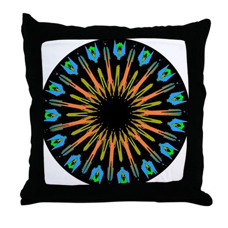 Kaleidoscope 003 Throw Pillow
