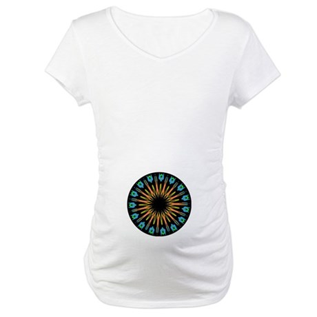 Kaleidoscope 003 Maternity T-Shirt