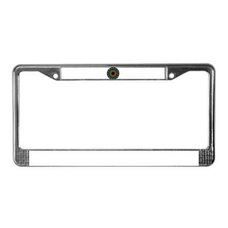 Kaleidoscope 003 License Plate Frame