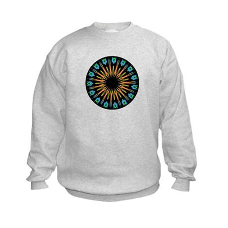 Kaleidoscope 003 Kids Sweatshirt