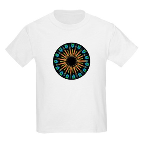 Kaleidoscope 003 Kids Light T-Shirt