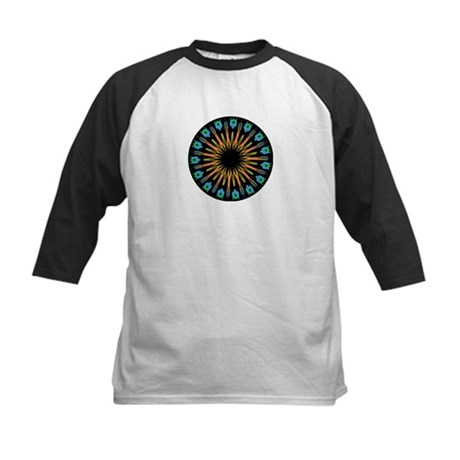 Kaleidoscope 003 Kids Baseball Jersey