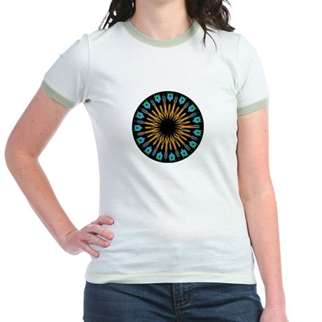 Kaleidoscope 003 Jr. Ringer T-Shirt