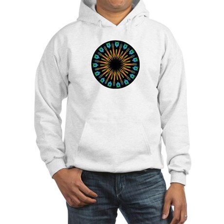 Kaleidoscope 003 Hooded Sweatshirt