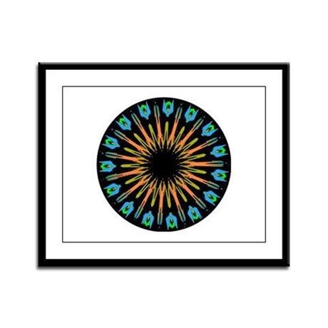 Kaleidoscope 003 Framed Panel Print