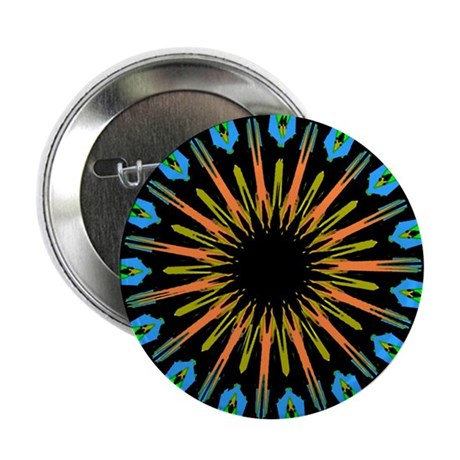 "Kaleidoscope 003 2.25"" Button (100 pack)"