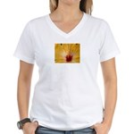 Sunflower Dove Women's V-Neck T-Shirt