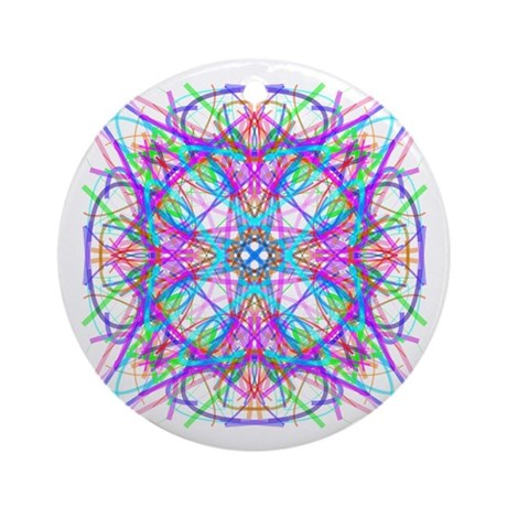 Kaleidoscope 005 Ornament (Round)