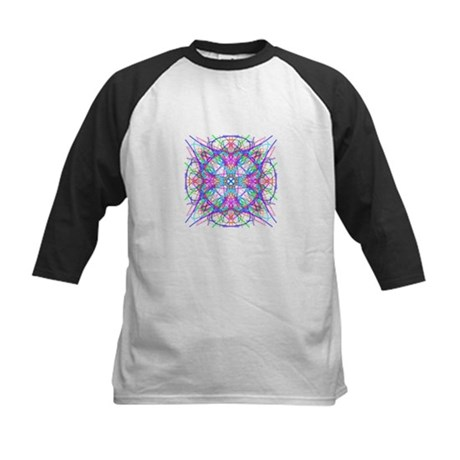 Kaleidoscope 005 Kids Baseball Jersey