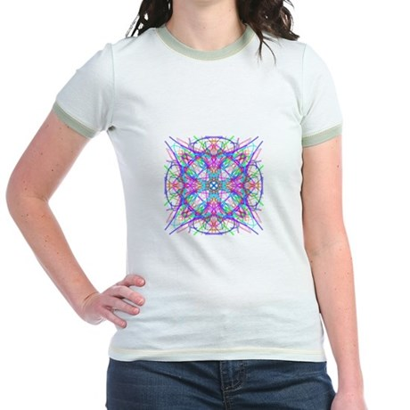 Kaleidoscope 005 Jr. Ringer T-Shirt