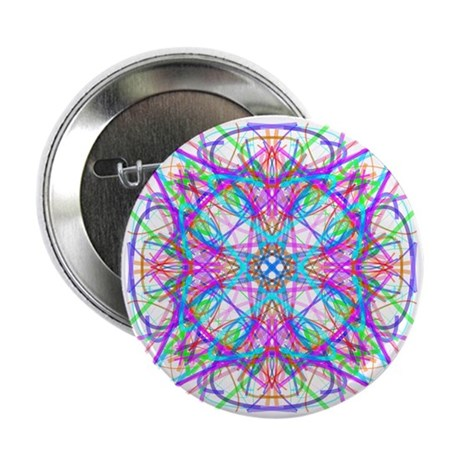 "Kaleidoscope 005 2.25"" Button (100 pack)"