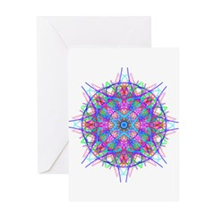 Kaleidoscope 0005c Greeting Card