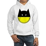 bat smiley Hooded Sweatshirt