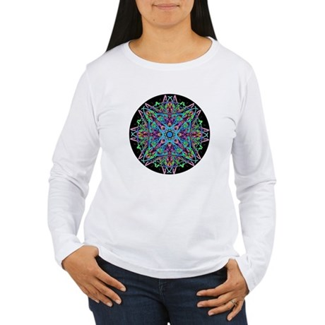 Kaleidoscope 005e Women's Long Sleeve T-Shirt