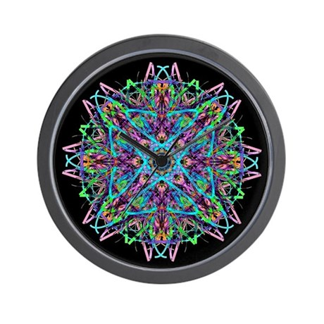Kaleidoscope 005e Wall Clock