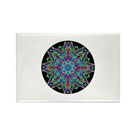 Kaleidoscope 005e Rectangle Magnet (10 pack)