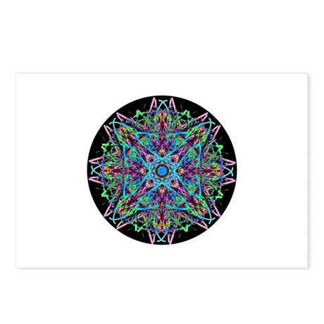 Kaleidoscope 005e Postcards (Package of 8)