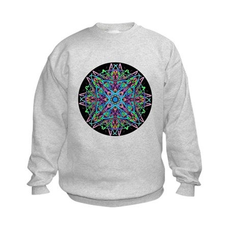 Kaleidoscope 005e Kids Sweatshirt