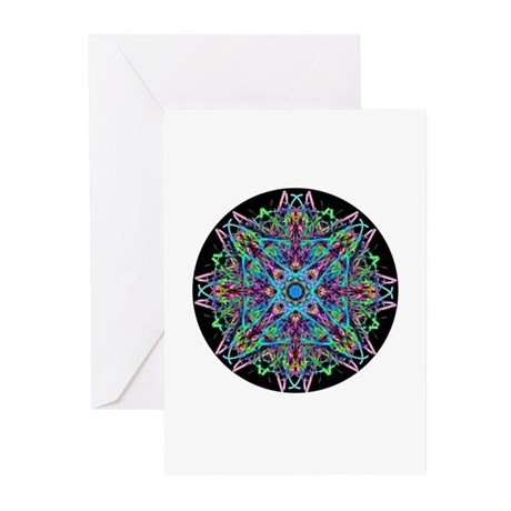 Kaleidoscope 005e Greeting Cards (Pk of 20)