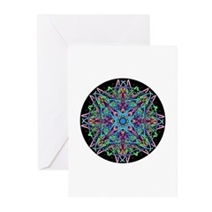Kaleidoscope 005e Greeting Cards (Pk of 10)