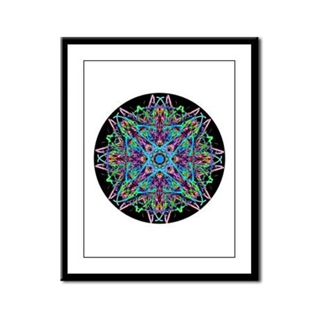 Kaleidoscope 005e Framed Panel Print